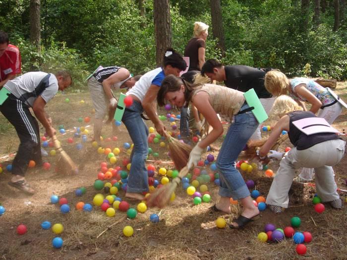 Детские конкурсы на улице летом на праздник